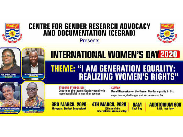 2020 International Women's Day Banner