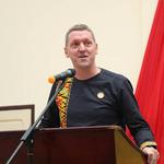 British High Commissioner to Ghana, H. E. Iain Walker
