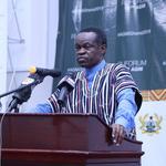 Prof. Lumumba presenting the lecture